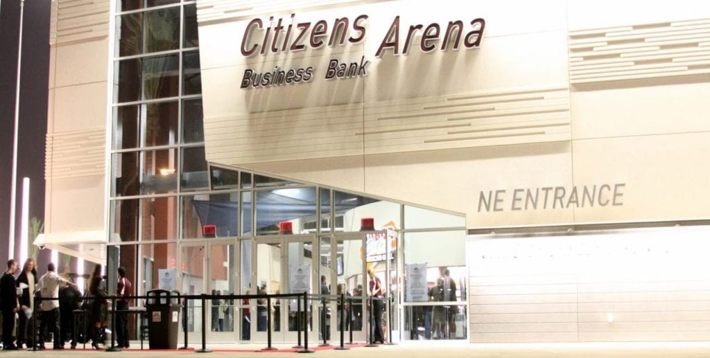 Ontario Citizens Bank Arena