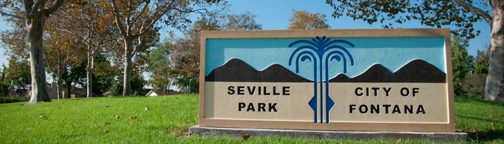 Seville Park in Fontana